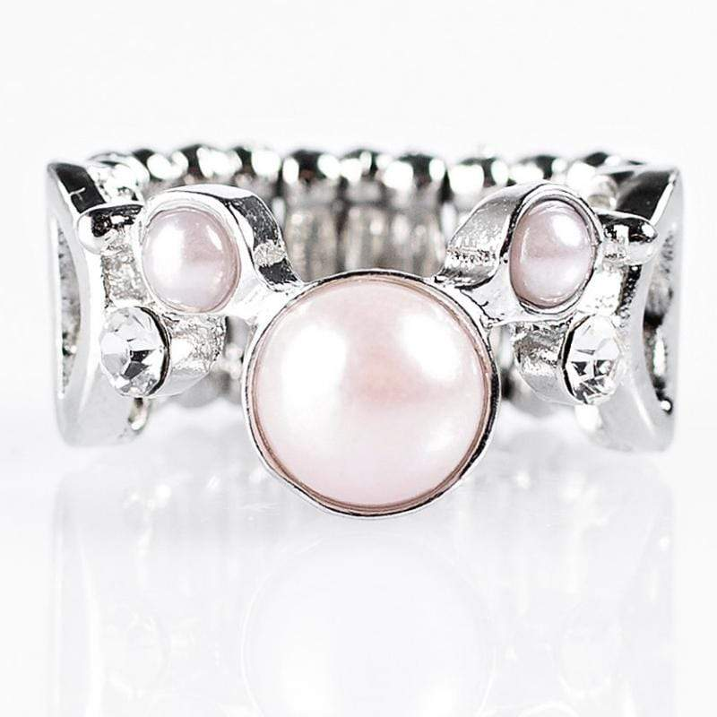 Wicked Wonders VIP Bling Ring Bobbing Along Pink Ring Affordable Bling_Bling Fashion Paparazzi