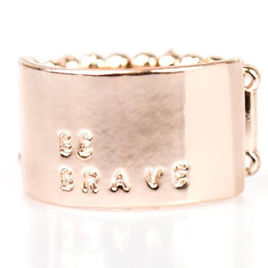 Wicked Wonders VIP Bling Ring Bravest of Them All Gold Ring Affordable Bling_Bling Fashion Paparazzi