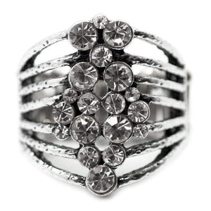 Wicked Wonders VIP Bling Ring Feelin' Like a Million White Ring Affordable Bling_Bling Fashion Paparazzi