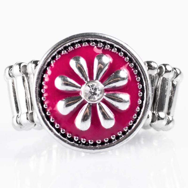 Wicked Wonders VIP Bling Ring If Today Was A Fairytale Pink Ring Affordable Bling_Bling Fashion Paparazzi
