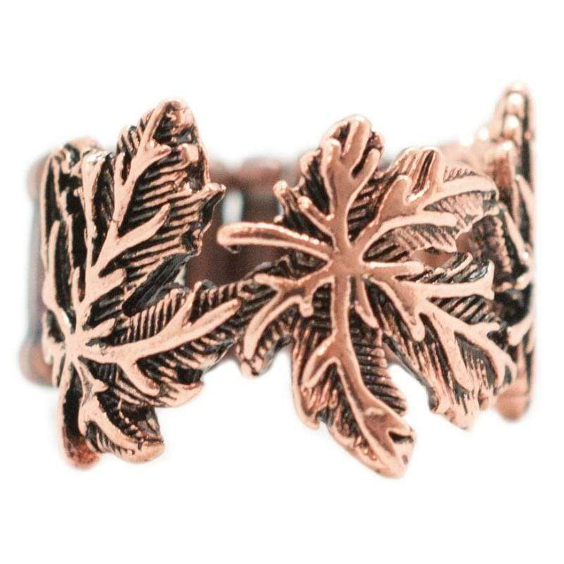 Wicked Wonders VIP Bling Ring If You Leaf Copper Ring Affordable Bling_Bling Fashion Paparazzi