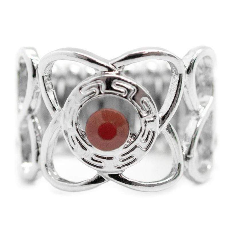 Wicked Wonders VIP Bling Ring In the Middle of Nowhere Red Ring Affordable Bling_Bling Fashion Paparazzi