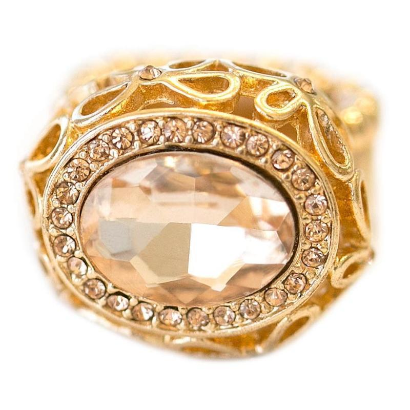 Wicked Wonders VIP Bling Ring Jackpot! Gold Ring Affordable Bling_Bling Fashion Paparazzi