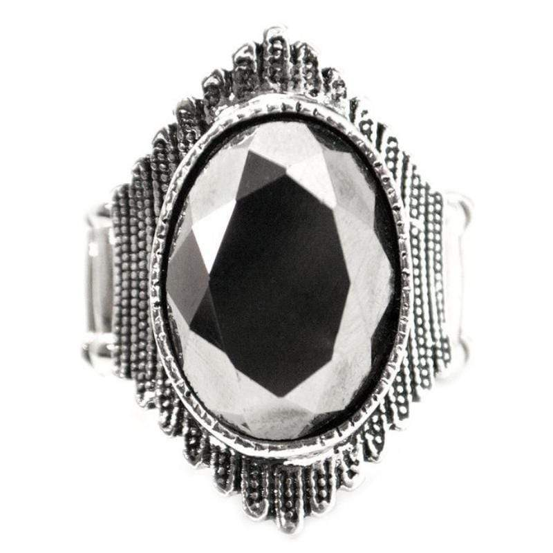 Wicked Wonders VIP Bling Ring Just a Tease Silver Ring Affordable Bling_Bling Fashion Paparazzi