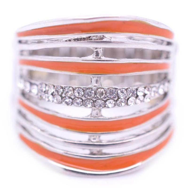 Wicked Wonders VIP Bling Ring Life in the Glitz Lane Orange Ring Affordable Bling_Bling Fashion Paparazzi