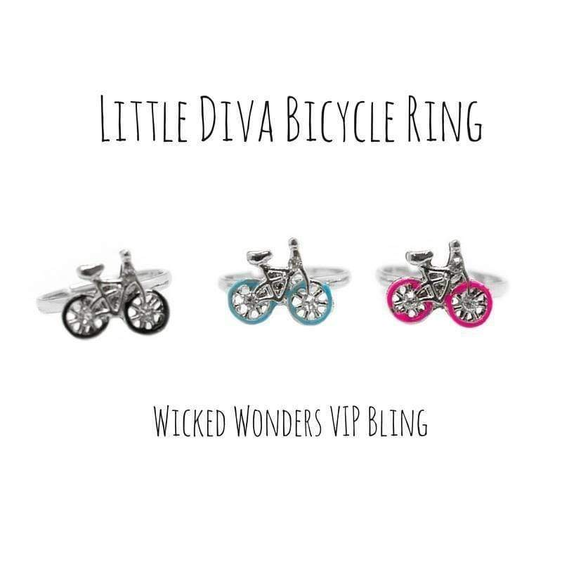 Wicked Wonders VIP Bling Ring Little Diva Bicycle Ring Affordable Bling_Bling Fashion Paparazzi