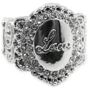 Wicked Wonders VIP Bling Ring Lost Without You Silver Love Ring Affordable Bling_Bling Fashion Paparazzi