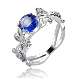Wicked Wonders VIP Bling Ring Lucky Vine Blue Gem Ring Affordable Bling_Bling Fashion Paparazzi
