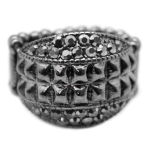 Wicked Wonders VIP Bling Ring Mean Girls Gunmetal Black Ring Affordable Bling_Bling Fashion Paparazzi