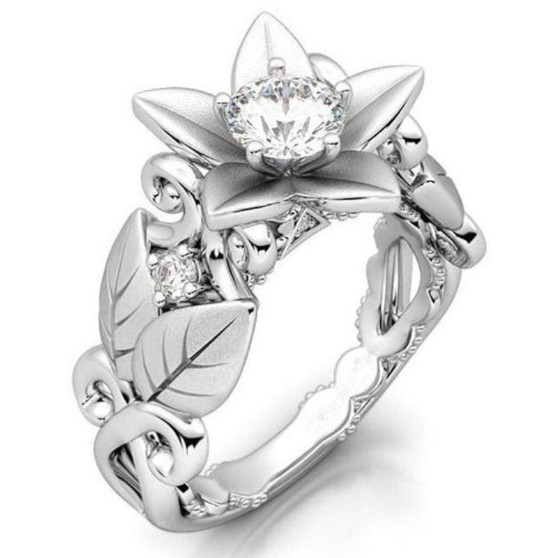 Wicked Wonders VIP Bling Ring Spring Flower AAA Zircon Ring Affordable Bling_Bling Fashion Paparazzi
