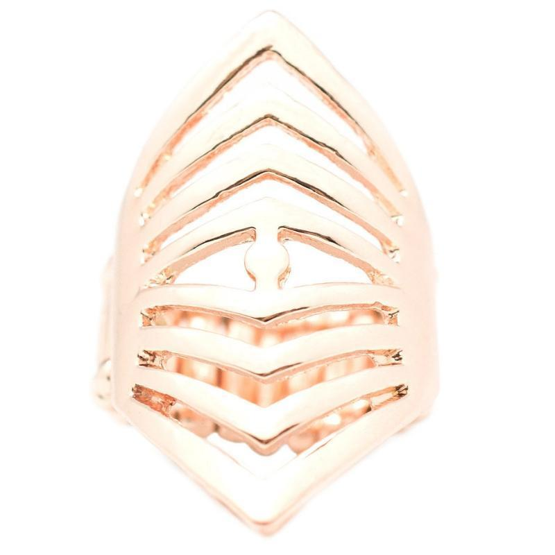 Wicked Wonders VIP Bling Ring The A-Team Rose Gold Ring Affordable Bling_Bling Fashion Paparazzi