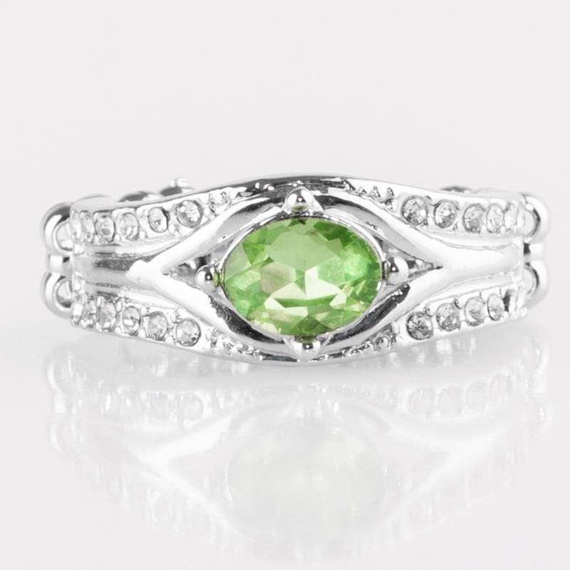 Wicked Wonders VIP Bling Ring The Insider Green Gem Ring Affordable Bling_Bling Fashion Paparazzi