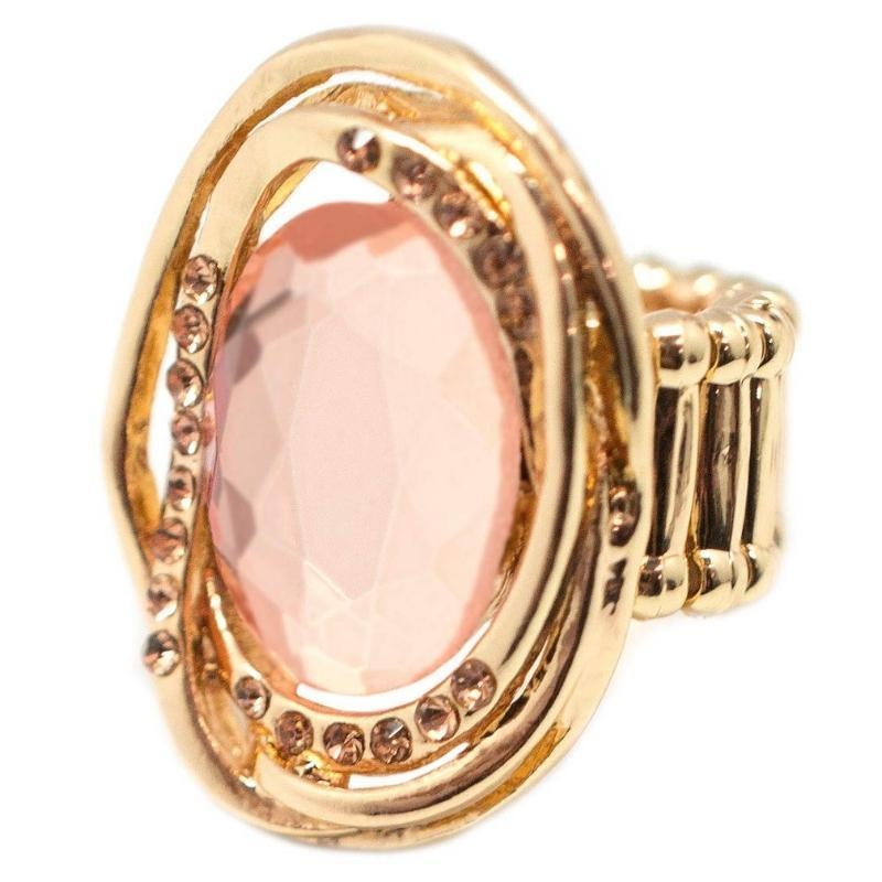 Wicked Wonders VIP Bling Ring The Valedictorian Gold Gem Ring Affordable Bling_Bling Fashion Paparazzi