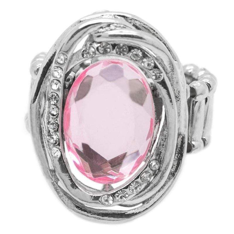 Wicked Wonders VIP Bling Ring The Valedictorian Pink Gem Ring Affordable Bling_Bling Fashion Paparazzi