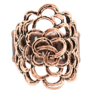 Wicked Wonders VIP Bling Ring Think Happy Thoughts Copper Ring Affordable Bling_Bling Fashion Paparazzi