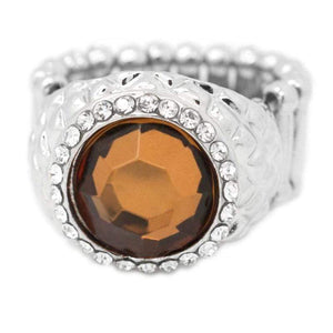 Wicked Wonders VIP Bling Ring What a Girl Wants Brown Ring Affordable Bling_Bling Fashion Paparazzi