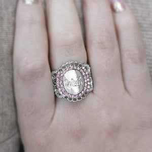 Wicked Wonders VIP Bling Ring Wishin' and Hopin' Pink Ring Affordable Bling_Bling Fashion Paparazzi