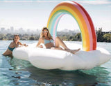 Inflatable Rainbow Bridge Pool