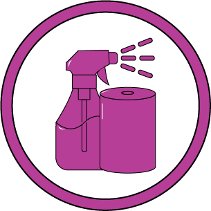 COVID-Safe icon - We have increased all cleaning protocols.