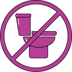 COVID-Safe icon - Our restrooms remain closed.