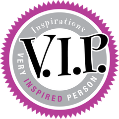 Inspirations VIPs - Very Inspired Person - Email Subscription