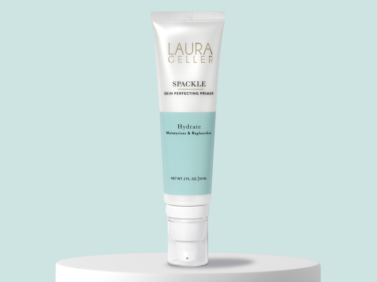 Dry Skin Spackle Hydrate for weightless moisture.