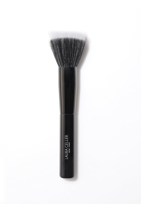 Stippling Brush, Black Wooden Handle