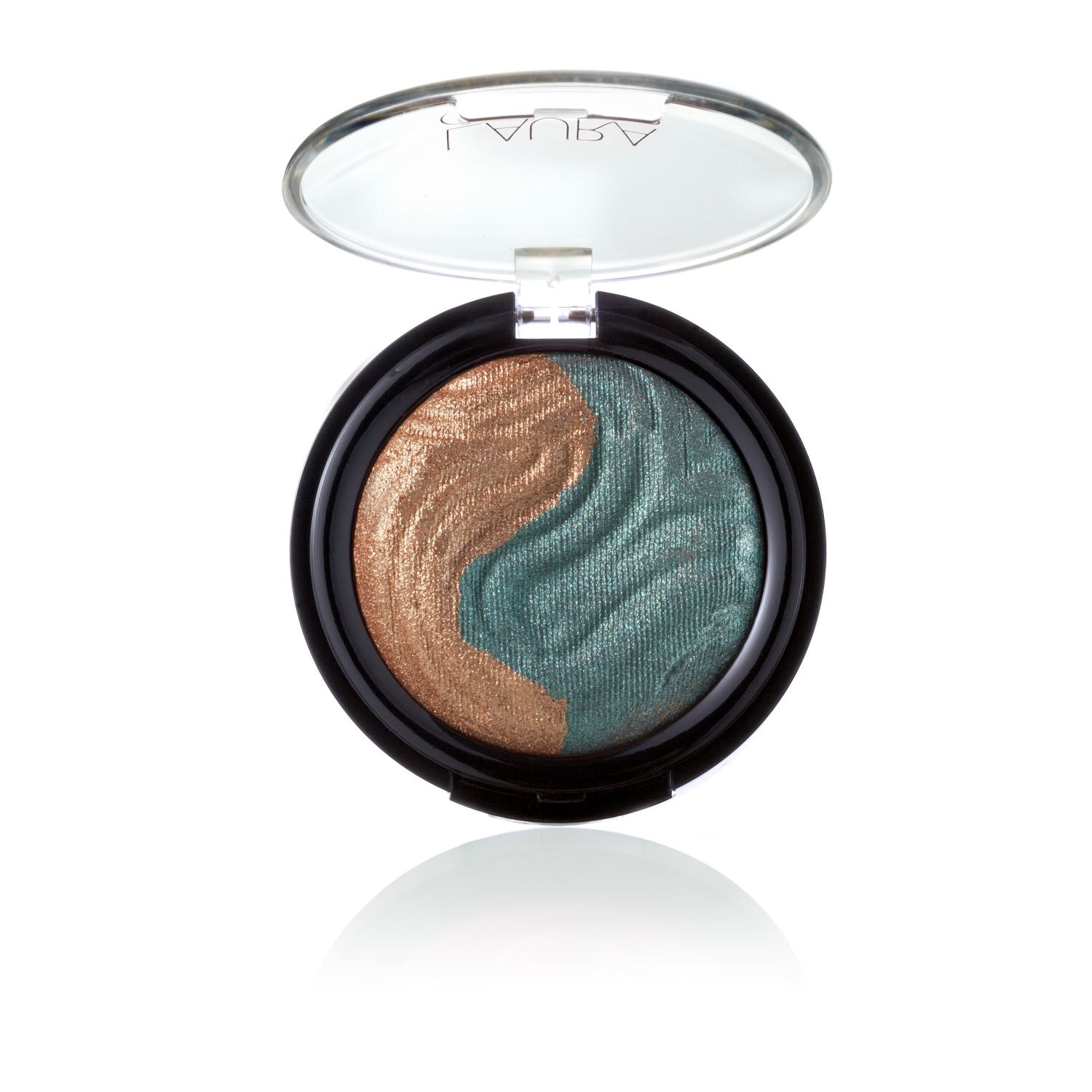 Baked Eclipse Eyeshadow Duo - Bronze / Emerald