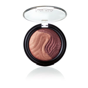 Baked Eclipse Eye Shadow Duo - Rose / Amethyst