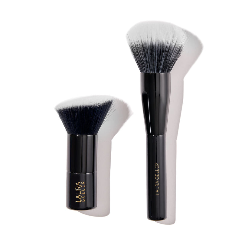 Blending Beauties 2 PC Face Brush Set