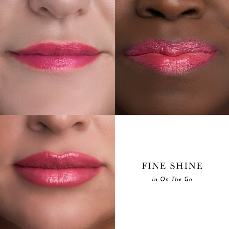Fine Shine Hydrating Lipstick On The Go Diverse Models Group Photo