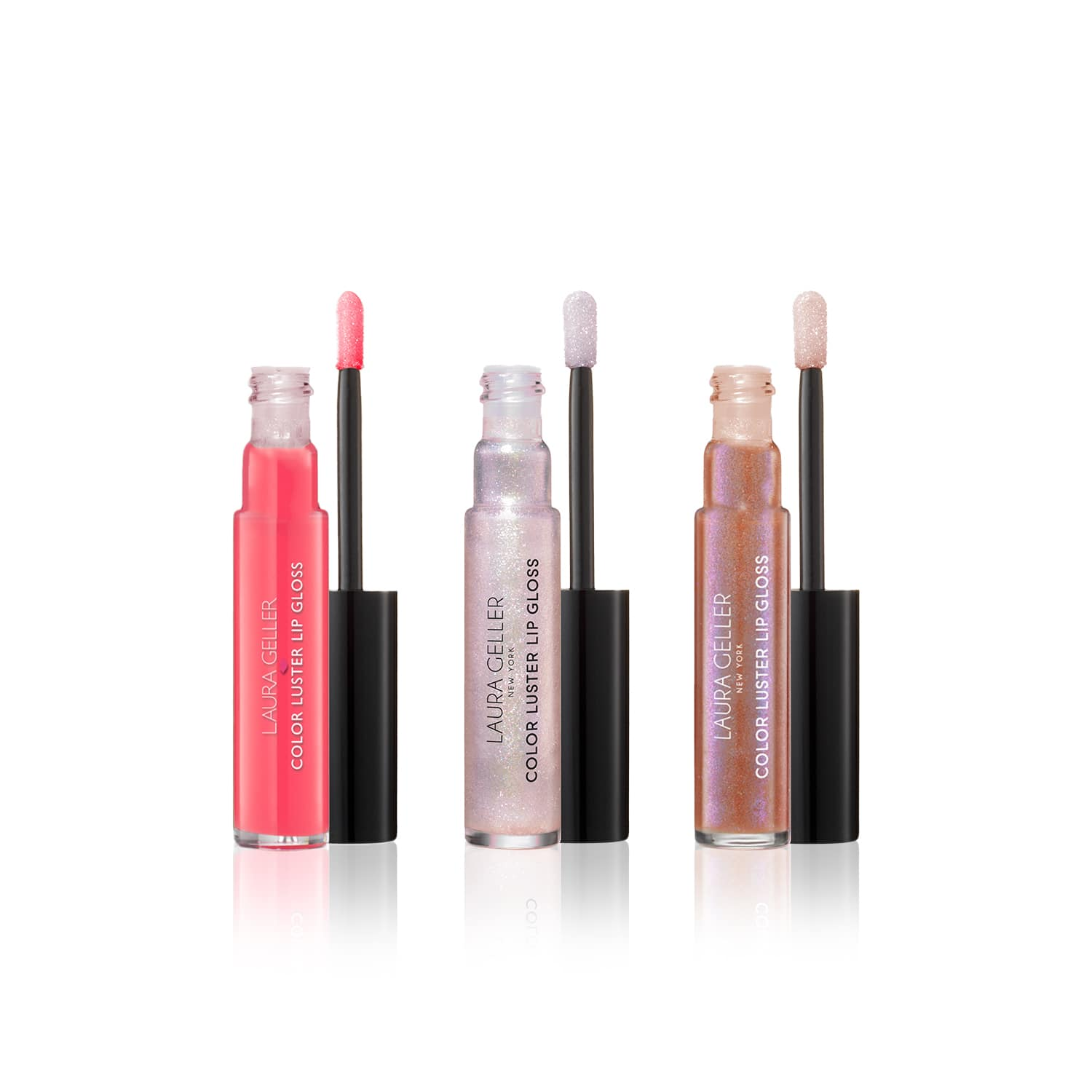 Color Luster Lip Gloss Hi-Def Top Coat (Set of 3)