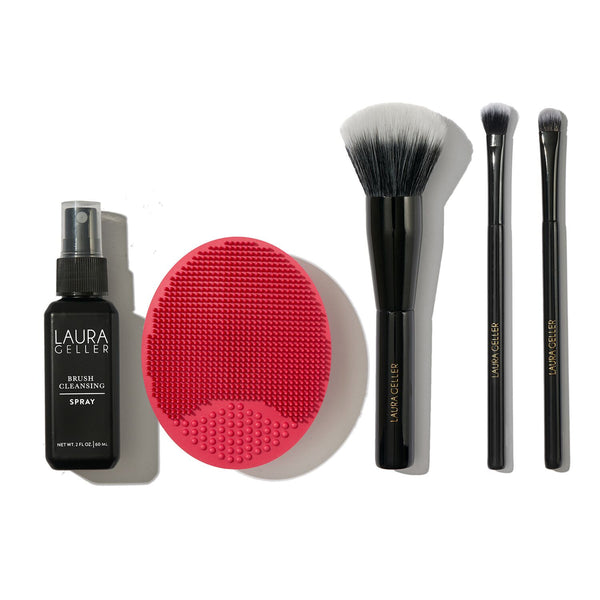 Brush-n-Bathe Brushes and Cleaning System