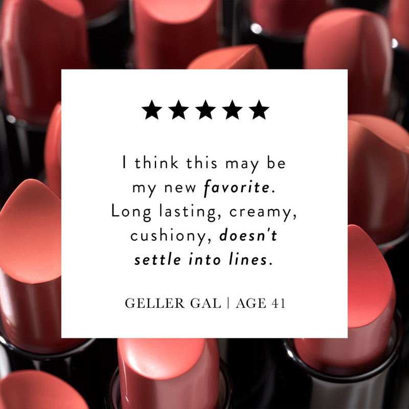 Modern Classic Lipstick Customer Quote