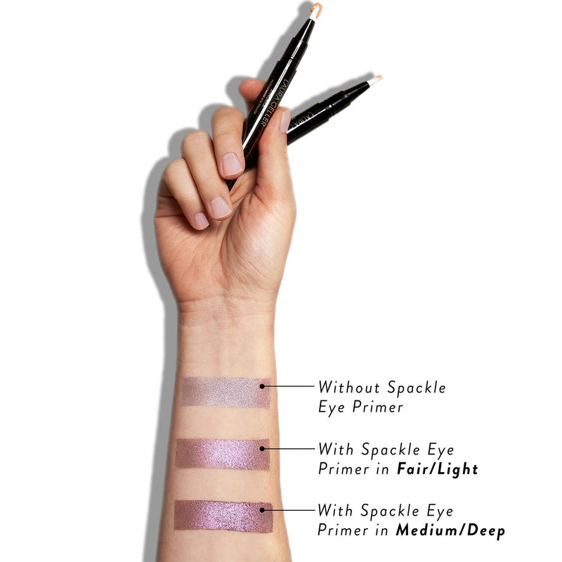 The Ultimate Pair: 31 Baked Eyeshadows + Eye Primer Before and After Primer
