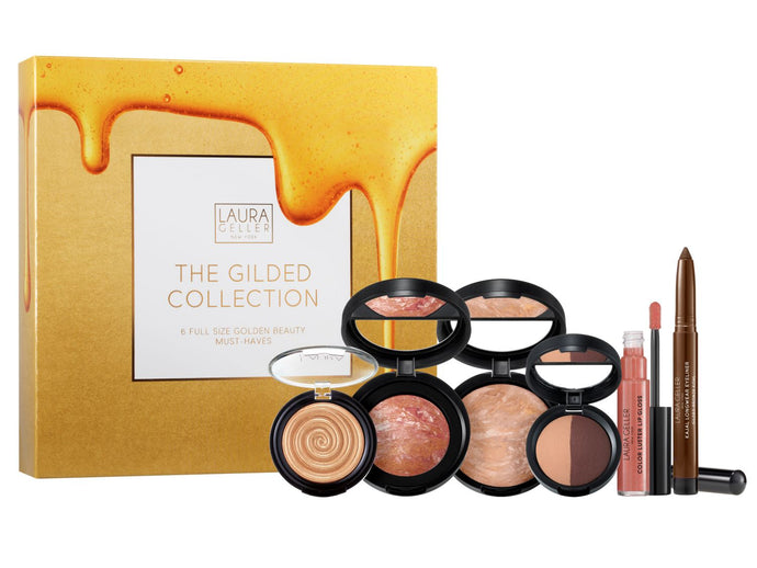 The Gilded Kit 6 Full-Size Golden Beauty Must Haves
