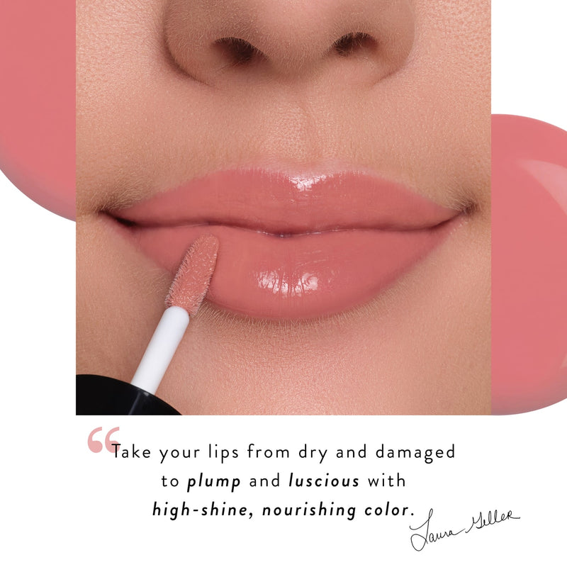Treat-n-Go Lip Oil Laura Geller Quote