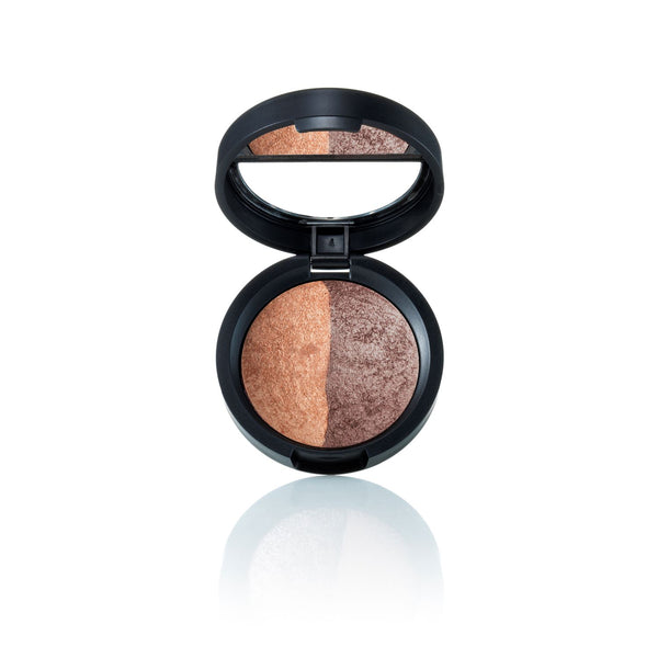 Baked Eyeshadow Duo Sable/Honey