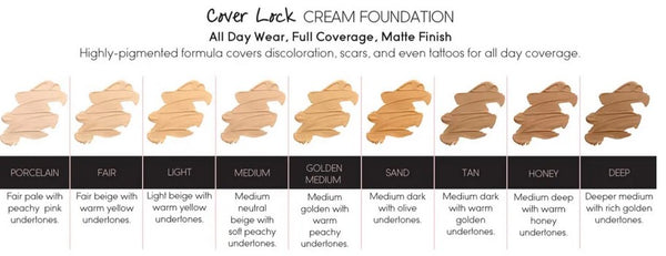 Cover Lock Cream Foundation