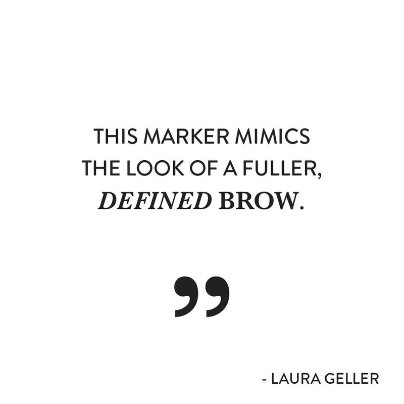 Heavenly Brows 24 Hour Brow Marker Laura Geller Quote