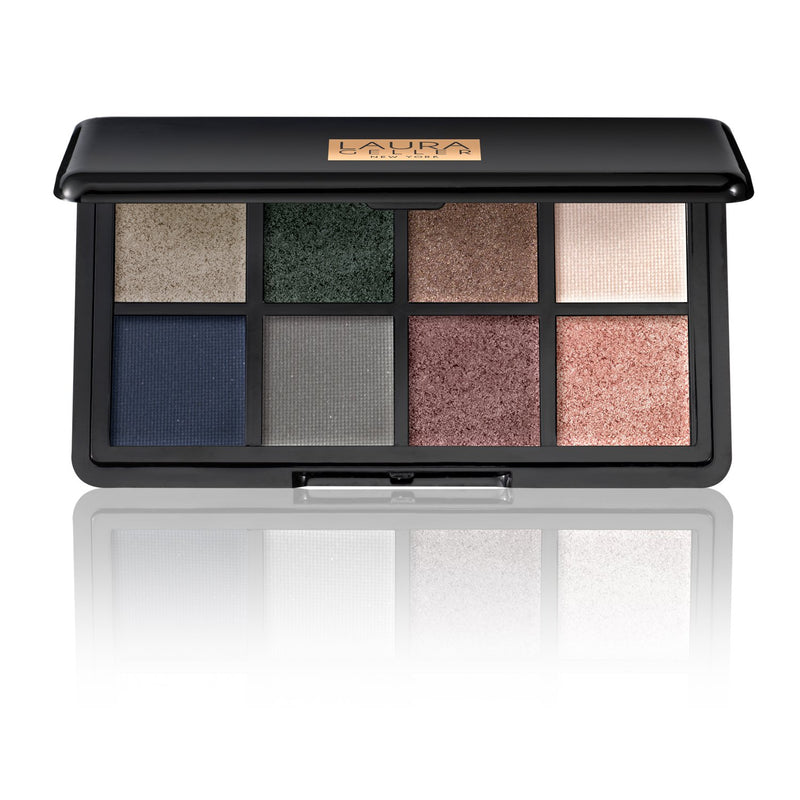 Two Luxe Finishes Eyeshadow Palette The Cools