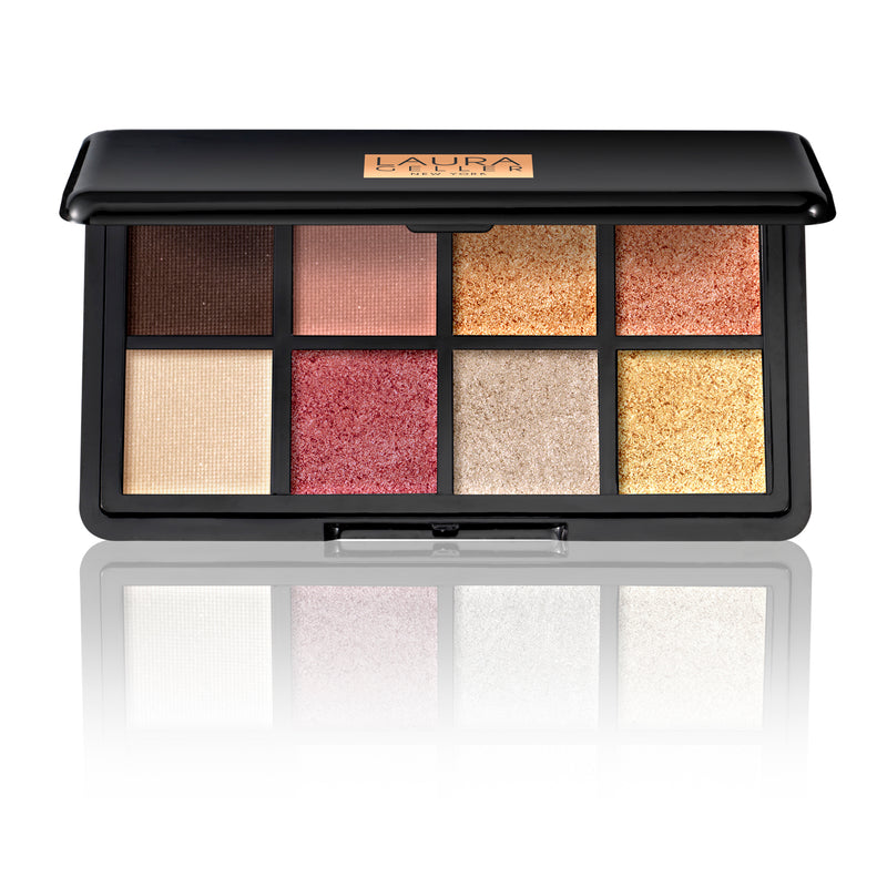 Two Luxe Finishes Eyeshadow Palette The Warms
