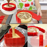 4 Pcs Silicone Bake Cake Molds-kitchen gadgets-shopinlegion