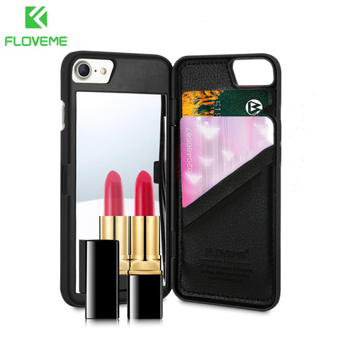 iPhone Makeup Mirror Case-smartphone gadgets-shopinlegion