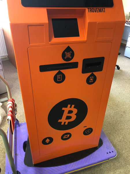 Crypto ATM Trovemat T1 (cash-in)