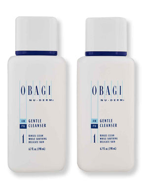 Buy online Obagi Nu-Derm Gentle Cleanser 2 Ct 6.7 oz
