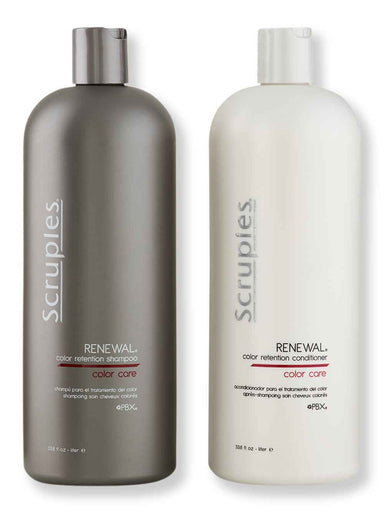 Buy online Scruples Renewal Color Retention Shampoo & Conditioner 1L