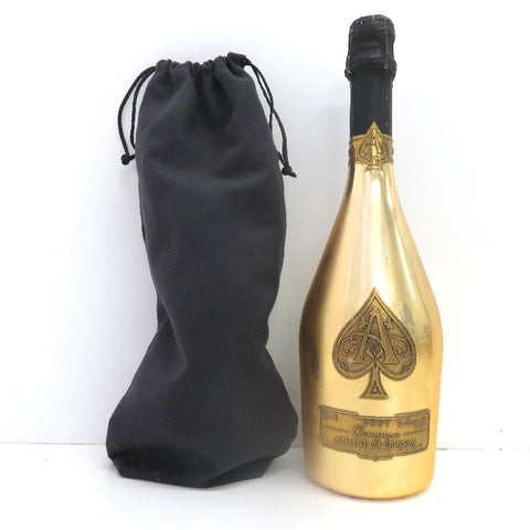 Unopened ARMAND DE BRIGNAC Gold 750ml without box