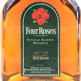 Unopened Four Roses reserve 750 ml without box