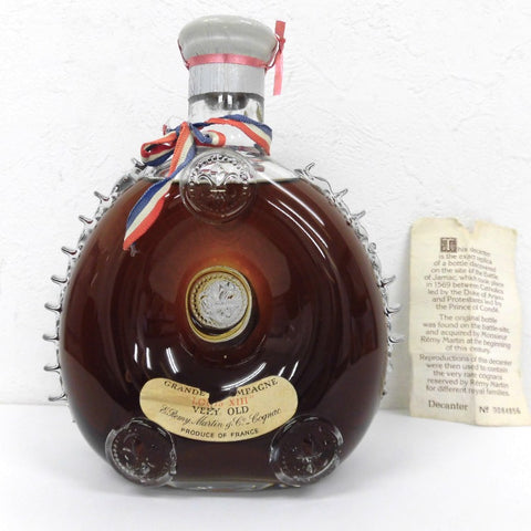 Unopened REMY MARTIN Louis XIII Berry Old 700ml Box None